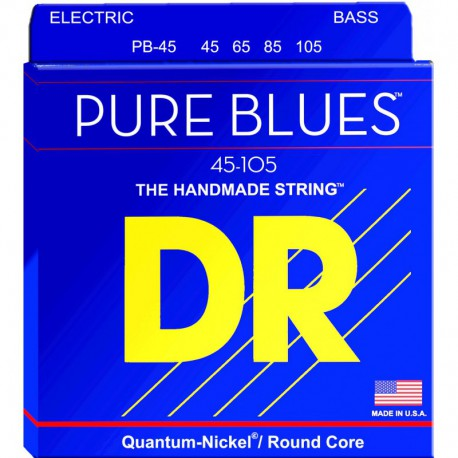 DR Strings Pure Blues PB45 Medium