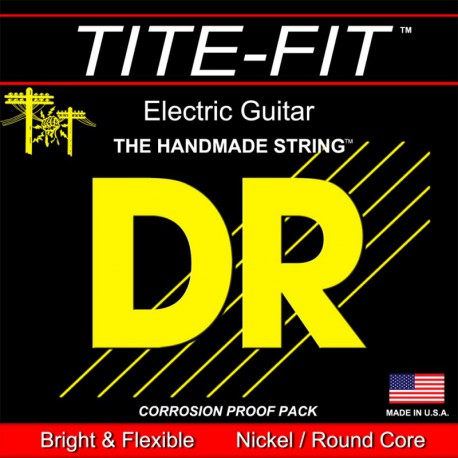DR Strings TiteFit TF8/10 8 String Medium