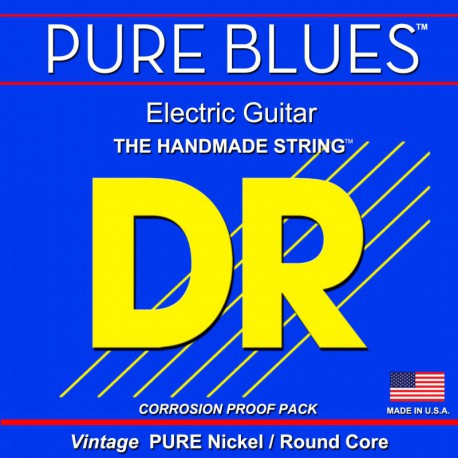 DR Strings Pure Blues PHR9 Lite