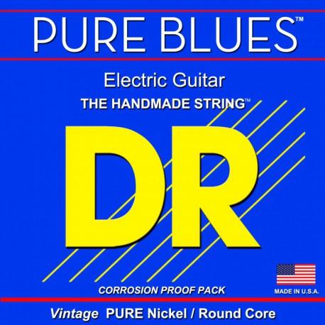 DR Strings Pure Blues PHR9 Lite