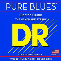 DR Strings Pure Blues PHR10 Medium