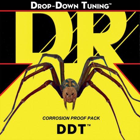 DR Strings DDT7-10 7 String Medium